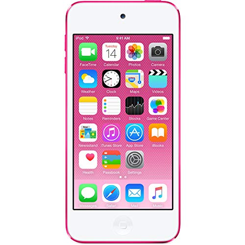 Apple iPod Touch 16GB Pink (6th Generation) MKGX2LL/A (Certified Refurbished)