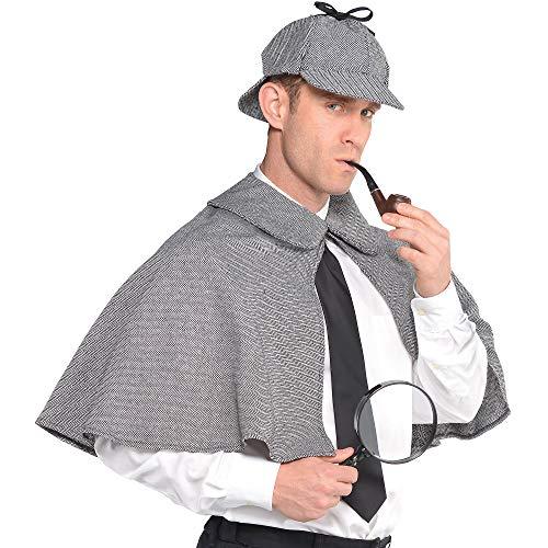Amscan 842812 Sherlock Holmes Costume, Adult Standard Size, 1 Piece