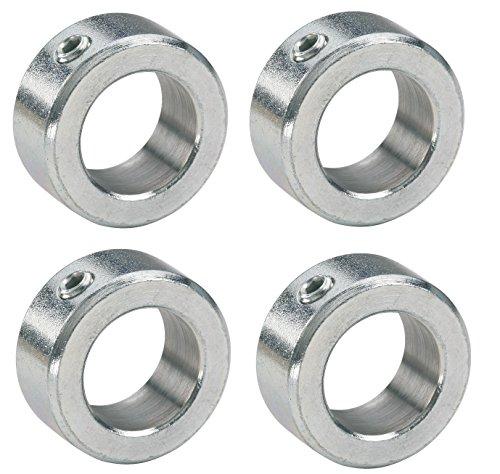 4 x Stellringe für 20mm Achse/Welle Verzinkt DIN705 A