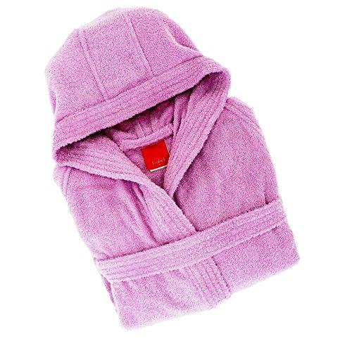 Gabel - Albornoz para Adulto, 100% algodón Violeta Violeta L