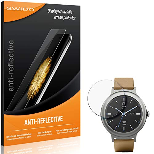SWIDO Schutzfolie für LG Watch Style [2 Stück] Anti-Reflex MATT Entspiegelnd, Hoher Festigkeitgrad, Schutz vor Kratzer/Folie, Bildschirmschutz, Bildschirmschutzfolie, Panzerglas-Folie