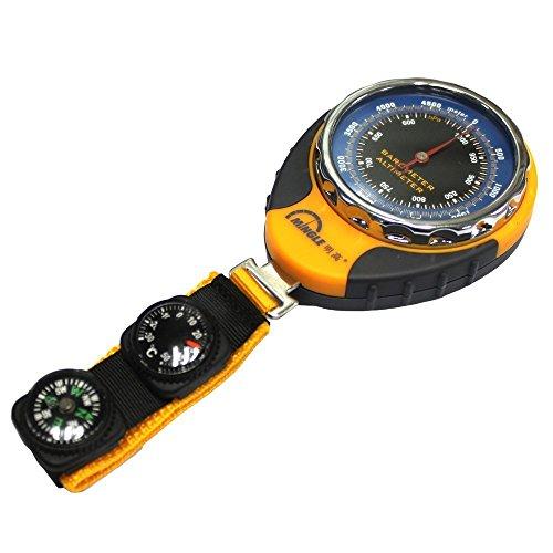 PIGE Thermomètre Compass 4 en1 Sports de plein air multifonctions Altimètre Baromètre pour Camping Randonnée