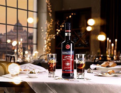 Ramazzotti Amaro – Der italienische Digestif mit 33 verschiedenen Kräutern – Absacker mit perfekter bittersüßen Note – 1 x 0,7 L - 4