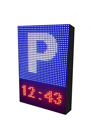 Rótulo LED programable Especial Parking (32x48 cm) / Pantalla LED RGB
