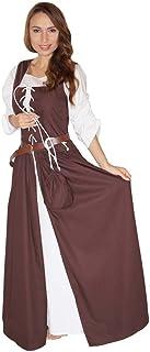 MAYLYNN 14261-L - Mittelalter Kostüm Magd Bäuerin Celia Kleid, Größe L