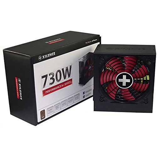 Xilence Performance A+ Serie | PC Netzteil | XN063 | 730 Watt | 80+ Bronze | rot/schwarz