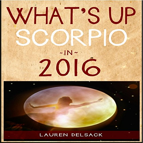 What's Up Scorpio in 2016 audiobook cover art
