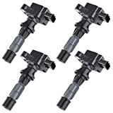 cciyu Pack of 4 Ignition Coils for Mazd-a 6/3/CX-7/Miata/Speed6 2006-2013 Fits for UF540 C1683