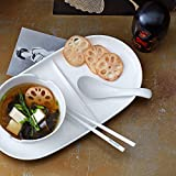 Villeroy & Boch – Soup Passion Asia Suppenlöffel-Set, 2 tlg., 14,5 cm, Premium Porzellan, spülmaschinen-, mikrowellengeeignet, weiß - 2