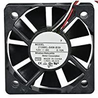 IPETSA NMB 2106KL-04W-B39 L50 fan 12V 0.10A 52*52*15mm 3pin