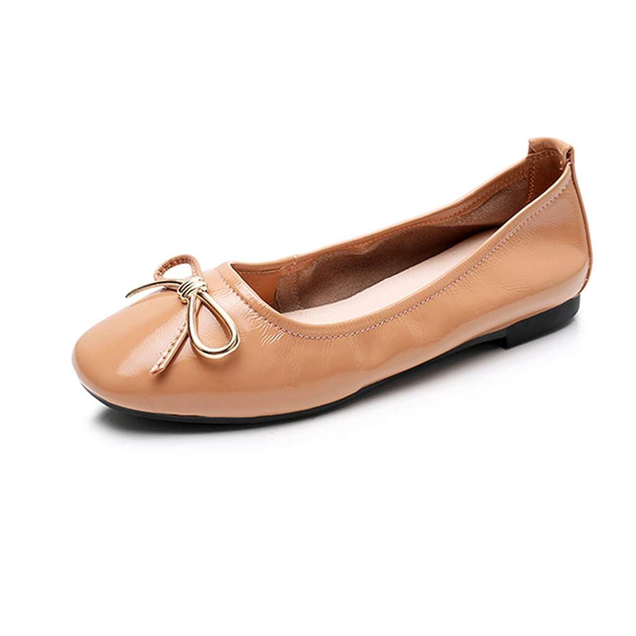考古学的なテープ崇拝します[リンゼ] シューズ バレエシューズ レディース フラットシューズ パンプス 痛くない ローヒール 疲れにくい 通勤 お買い物 お出かけ ローファー パンプス 靴 光沢のある 女性 ローヒール 歩きやすい 婦人靴 ぺたんこ靴