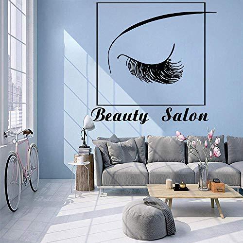 Salón De Belleza Papel Tapiz De Vinilo Rollo Decoración De Muebles Decoración Del Hogar Sala De Estar Dormitorio Arte De Vinilo Apliques 57X58Cm