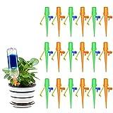 Valvola Regolabile: Interfaccia dell'interruttore a forma di U, i picchi di irrigazione delle piante possono controllare la velocità del flusso, la velocità di gocciolamento è controllabile da 0s / 1 a 90s / 1 gocciolamento, i gocciolamenti a rilasci...