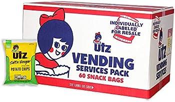 60-Count Utz Salt & Vinegar Potato Chips, 1 oz. Bags