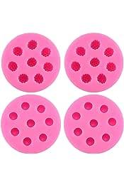 BESTONZON Molde Duro de policarbonato Galletas Forma Cuadrada 21 Compartimentos Fondant decoraci/ón de Pasteles para Tartas