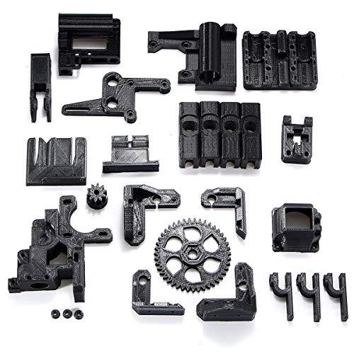 ZTSHBK Durable Y-Longhair ABS Filament Noir Noir Accessoires imprimés 3D pièces Kit de Bricolage pour imprimante 3D RepRap Prusa i3