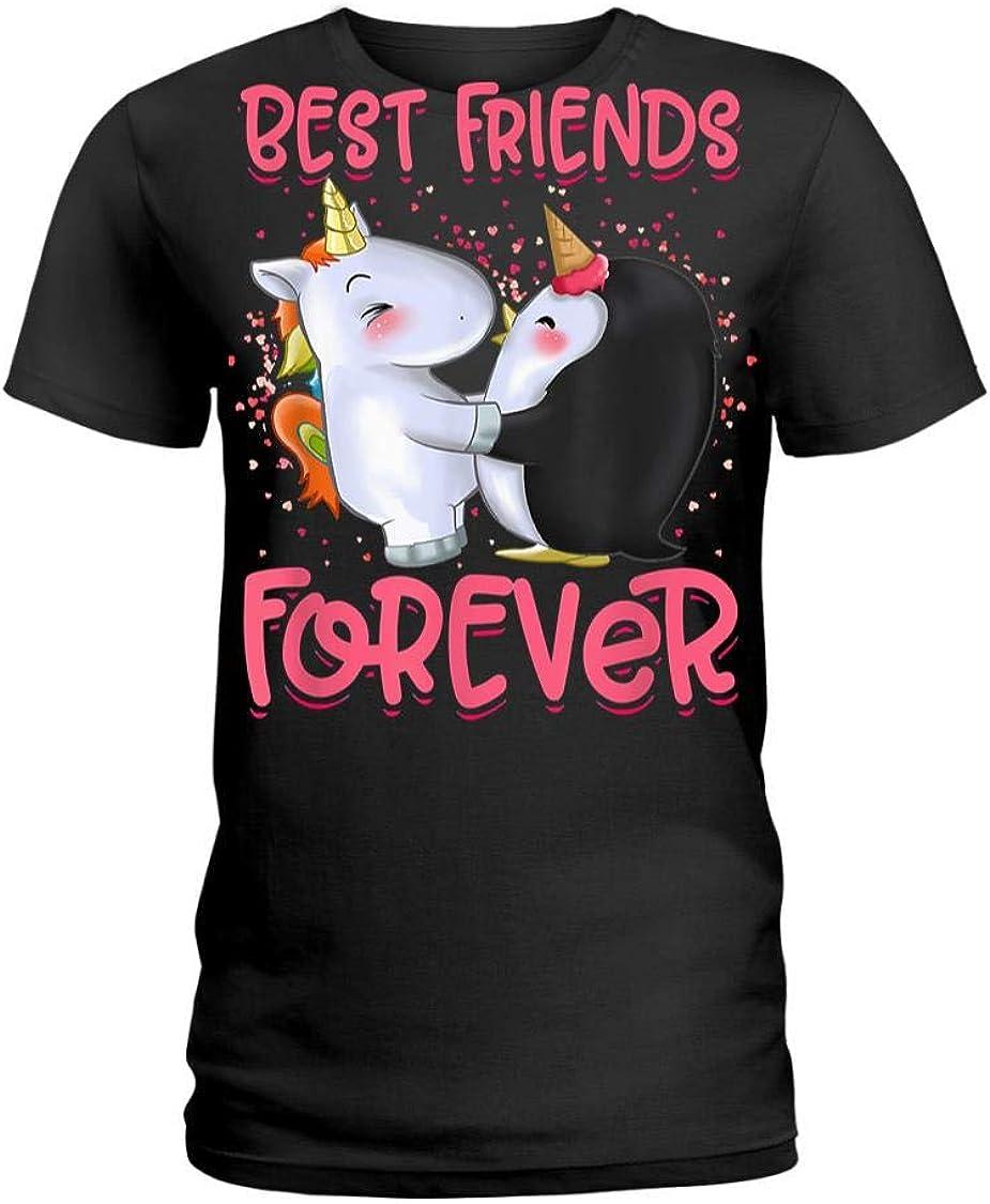 Mother Love Shirt, Girls Unicorn Clothes Dress Penguin Outfit T-Shirt Essentiel ,Mom