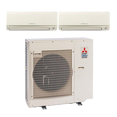 MXZ3B24NA Dual-Zone Wall Mount Mini Split Air Conditioner by Mitsubishi
