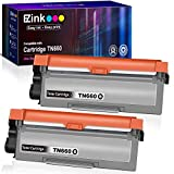 E-Z Ink (TM) Compatible Toner Cartridge Replacement for Brother TN630 TN660 High Yield to use with HL-L2300D HL-L2320D HL-L2380DW HL-L2340DW MFC-L2700DW MFC-L2720DW MFC-L2740DW Printer (Black, 2 Pack)