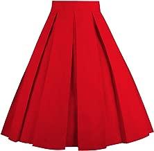 Best red vintage skirt Reviews