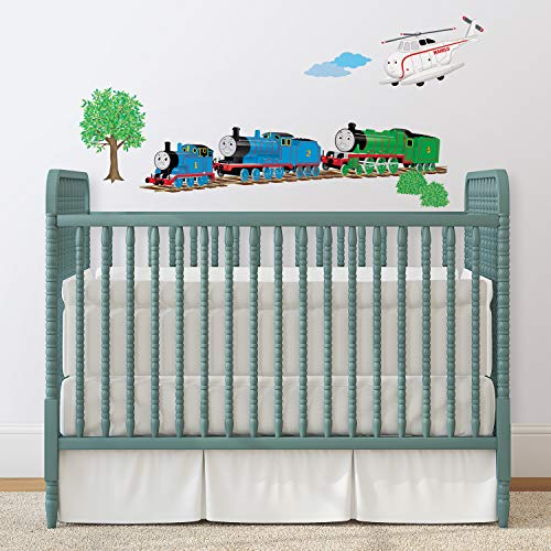 RoomMates RMK1035SCS Thomas & Friends Peel and Stick Wall Decals ,Multi color