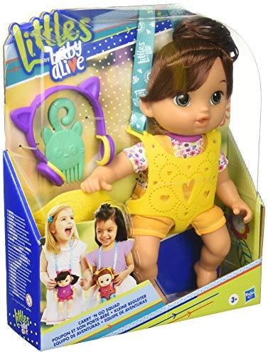 Baby Alive Littles Nadia Equipo de Aventuras