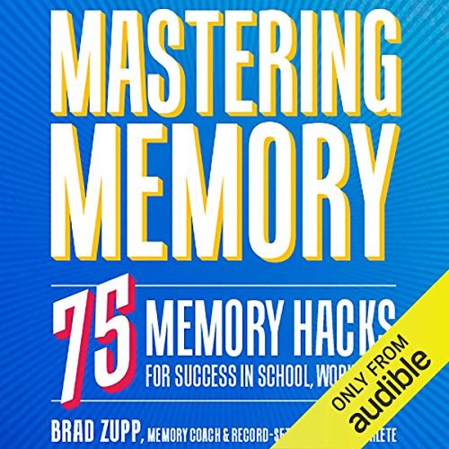 Mastering Memory audiobook cover art