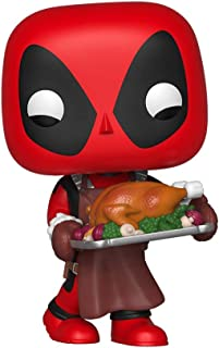 Pop! Marvel: Holiday - Deadpool with Turkey