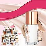 Yiwa Corrector de Maquillaje de Base líquida cambiante de Color de Temperatura de Moda