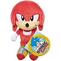 Sonic The Hedgehog Plush 7 Inch Knuckles Figure