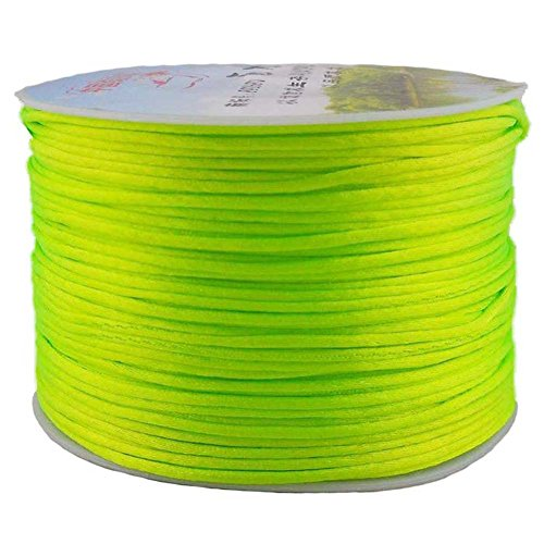 Best Prices! Great DIY Ideas for Bracelet Braided Jewelry Beading Cords Accessories with Neon Green ...