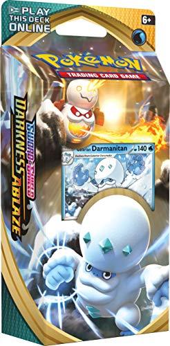 Pokémon TCG: Sword & Shield Darkness Ablaze Theme Deck Featuring Galarian Darmanitan $12.99  2