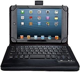 ASUS ZenPad 7.0 Z370KL ケース,【IVSO】オリジナル ASUS ZenPad 7.0 Z370KL/Z370C/Z370CG (2015 Version)/旭エレクトロニクス AEC SG080i SG080iSL SG080iBK /Huawei Mediapad M2 7.0/ Huawei Mediapad T2 7.0 pro / Dragon Touch Y88X/Y88X Plus / Y88 / Q88/Dragon Touch S8/Huawei Mediapad M2 8.0/ Qua tab px/ ASUS ZenPad 8 2016/ ASUS Zenpad Z8キーボード ((7-8インチのタブレットも適用) 開閉で自動的 PUレザーケース マグネット着脱可能 一体型Wirelessワイヤレスキーボード(ブラック)