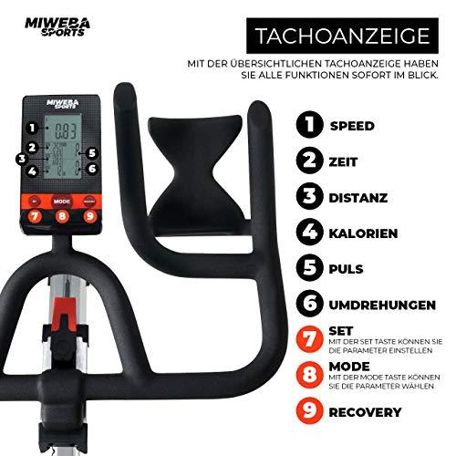 Ergometer Heimtrainer Fahrrad + App-Steuerung Bild 5*