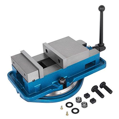 """Mophorn 3\""""/ 80mm Professionelle Tisch Schraubstock Präzision Schraubstock Schraubstockklemmen Werkzeug Set Bench Clamp (3\"""" / 80mm)"""