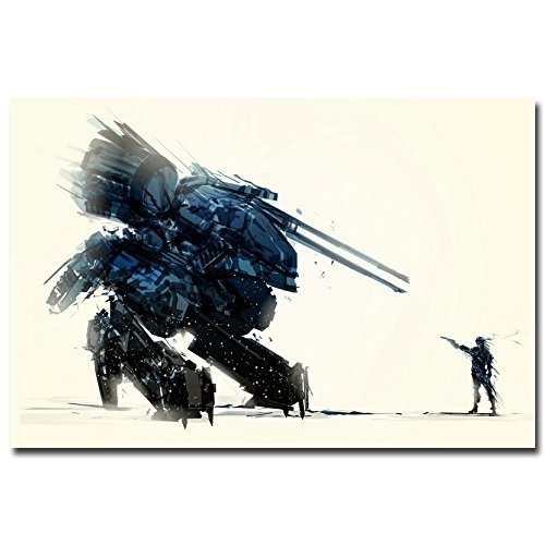 Lawrence Painting Metal Gear Solid V The Phantom Pain Game Art Canvas Poster Print Solid Snake Living Room Decor7