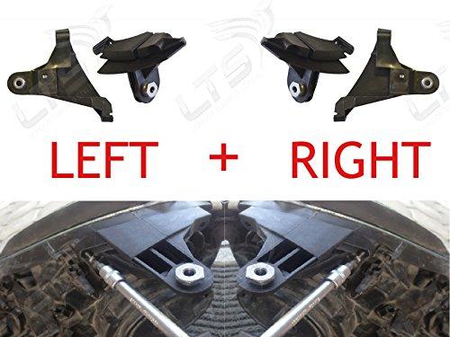 gauche et à droite lampe frontale Phare support Tab kit de réparation pour W211 2002–2008