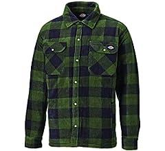 Dickies - Camisa térmica acolchada para trabajo, S, verde: Amazon.es: Bricolaje y herramientas