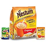 Nestum All Family 3-in-1 Instant Cereal Milk Drink and 1-Pack Nestle Cereal...