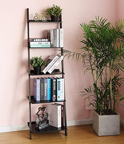 HYNAWIN Ladder Shelf Bookcase