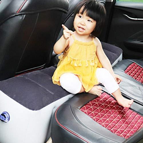 Pepional Auto Luftmatratze, Aufblasbare Rücksitz Lücke Isomatte Luftbett Kissen Für Car Travel Camping
