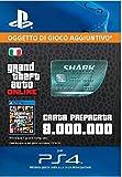 Grand Theft Auto Online - GTA V Cash Card | 8,000,000 GTA-Dollars | Codice download per PS4 - Account italiano