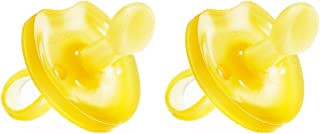 Natursutten 2 Pack BPA Free Natural Rubber Pacifier, Butterfly Orthodontic, 12 Months and Above