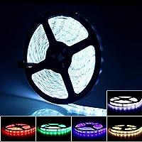 プレミアム ベッドルーム用LEDストリップライト、LEDストリップライトリモート防水LEDストリップライト付き プロフェッショナル&アップグレード済み (Color : Warm White, Size : 2835 WP)