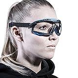 SOLID. Pequeñas gafas proteccion trabajo de ajuste perfecto | Gafas de seguridad...