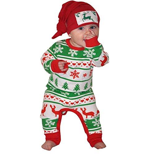 Juleya Juleya Baby Spielanzug/Overall/Langarm-Shirt/One-Piece Bodysuit für Baby Boys/Girls