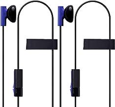 MKK 2 Pack overol Juego en el chat Gaming Auriculares Auricular Auriculares Headset con micrófono para PS4 Playstation 4