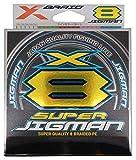 よつあみエックスブレイド(X-Braid) スーパー ジグマン X8 200m 1号 20lb5カラー
