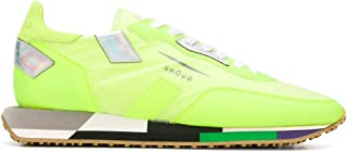 Luxury Fashion | Ghoud Men E10ERMLMRS17 Yellow Suede Sneakers | Spring-summer 20