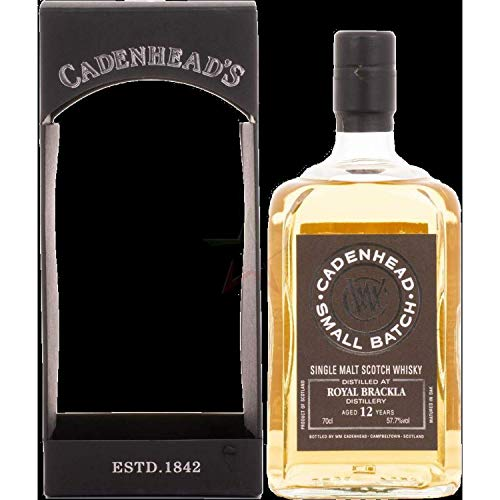Cadenhead's ROYAL BRACKLA 12 Years Old SMALL BATCH Single Malt Scotch Whisky 2006 (1 x 0.7 l)